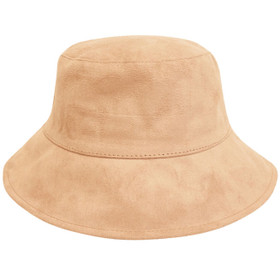 Downtown Style - Camel Faux Suede Bucket Style