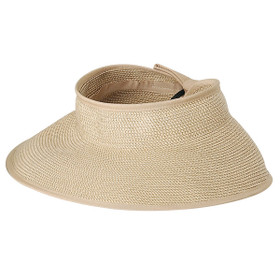 "Jeanne Simmons - 4.5"" Tweed Rolled Visor"