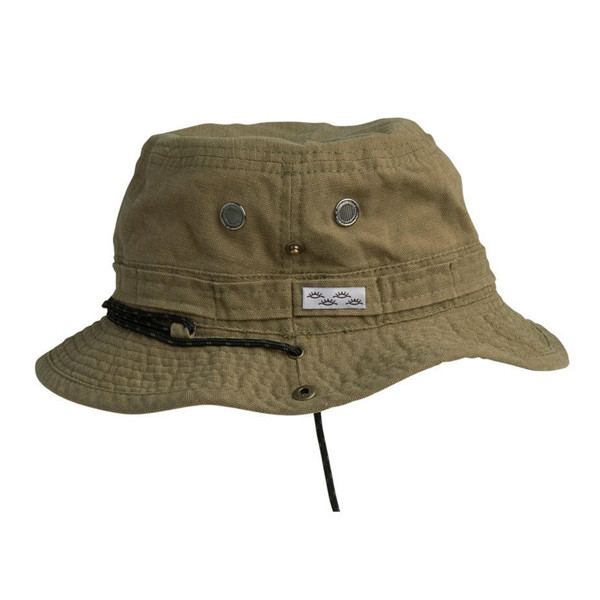 Conner Hats - Yellowstone Hiker Bucket Hat in Olive - Full View