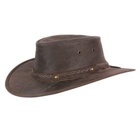 Conner - Kangaroo Crossing Buffalo Hide Hat