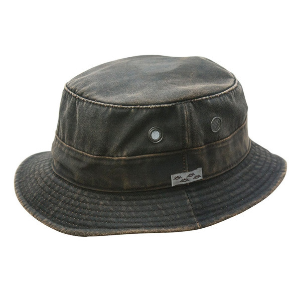 Conner - Weathered Buck Hat - Full View