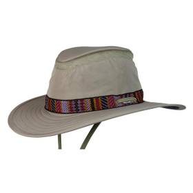 Conner - Aztec Boater Hat - Full View