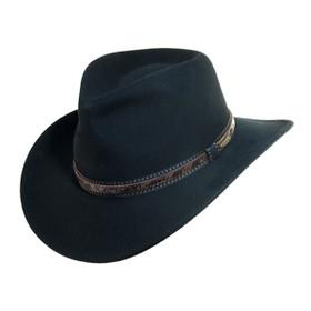 Scala - Outdoor Wide Brim Hat in Black