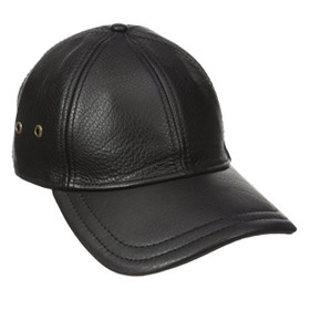 Stetson - Oily Timber Cap in Black - Front View