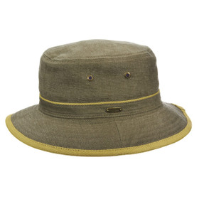 Stetson - Oxford Bucket Hat in Olive