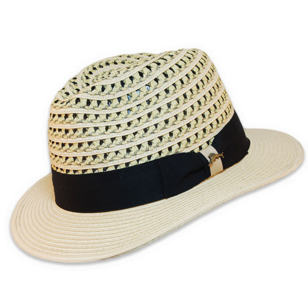 Tommy Bahama - Two-Tone Tweed Safari Fedora