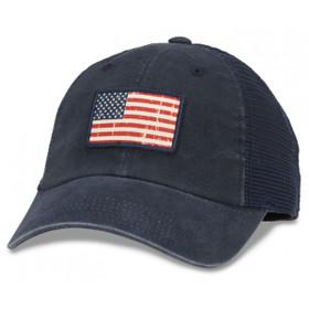 American Needle - Vintage American Flag Baseball Cap