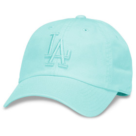 American Needle - LA Dodgers Tonal Baseball Cap in Seafoam
