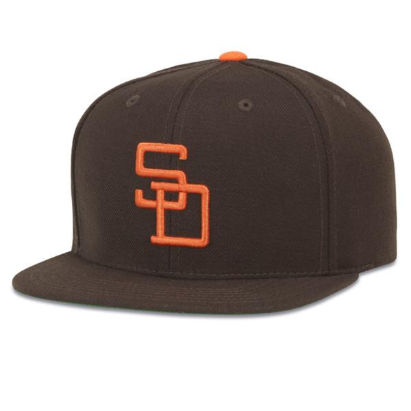 American Needle San Diego Padres Flat Brim Baseball Cap