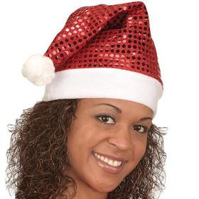 Jacobson - Sequin Santa Hat