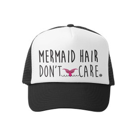 Grom Squad - Mermaid Hair Don't Care Little Girl Trucker Hat