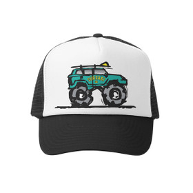 Grom Squad - Black Surfari Trucker Toddler Hat