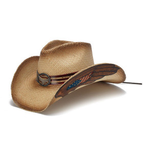 Stampede Hats - Eagle Wings USA Cowboy Hat - Front Angle