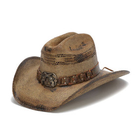 Stampede Hats - WANTED Cowboy  Hat - Front Angle
