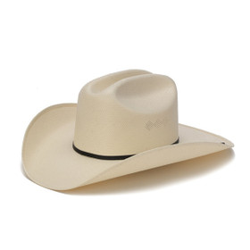 Stampede Hats - 200X Shantung Diamond Vented Western Hat - Front Angle
