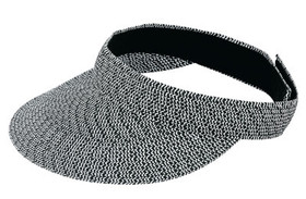 Jeanne Simmons - Black Tweed Visor