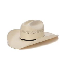 Stampede Hats - 200X Shantung Vented Cowboy Hat - Front Angle
