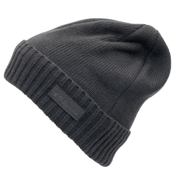 No Bad Ideas - Zander Military Knit Watch Cap w/ Patch - Black - Side
