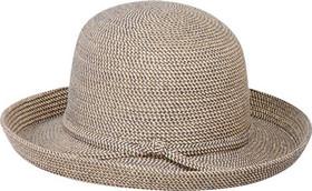 Jeanne Simmons - Medium Tweed Kettle Brim Hat Tan