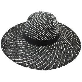 California Hat Company - Toyo Spiral Wide Brim Hat Black