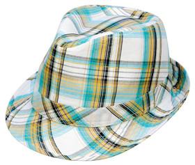 Kenny K - Summer Plaid Fedora Hat