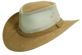 Dorfman Pacific - Polyester Blend Bush Soaker Hat Tan