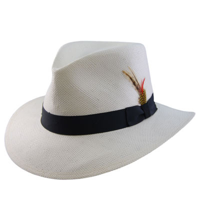 TLS Stefeno - Phillip Faux Panama Hat - Style