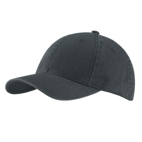 Flexfit - Black Garment Washed Cap
