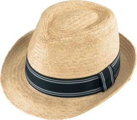 Henschel Hat Co. - Raffia Fedora Hat