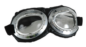 Elope - Silver Aviator Goggles