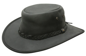 Conner - Leather Outback Hat