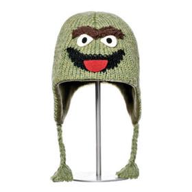 Knitwits - Sesame Street Oscar Hat