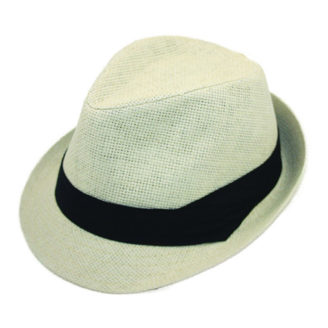 Jeanne Simmons - Ivory Toyo Fedora Hat