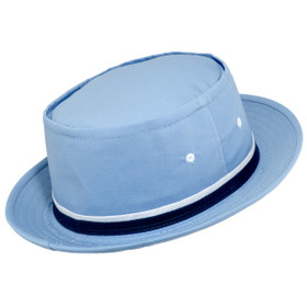 Dorfman Pacific - Roll up Bucket Hat - Light Blue