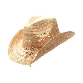 Peter Grimm - Mallorie Natural Drifter Cowboy Hat