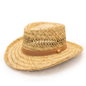 Dorfman Pacific - Murray Rush Gambler Straw Sun Hat -