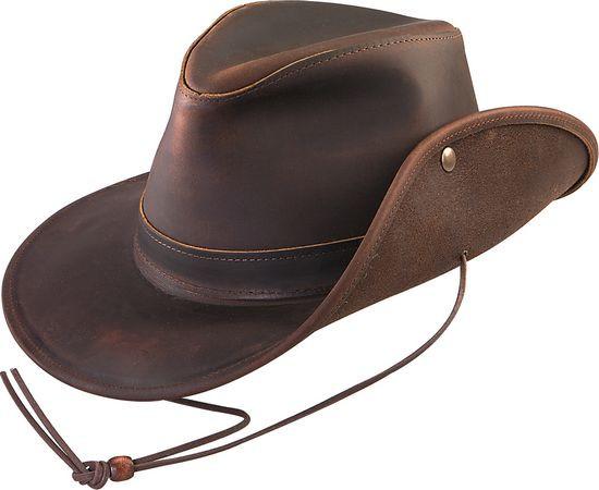 Henschel Aussie Leather Safari Hat Hats Unlimited