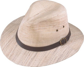 Henschel - Natural Linen Safari Hat