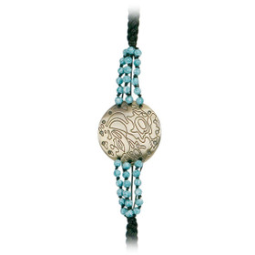 Kenny K - Braided Hat Band with Medallion