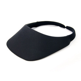 No Headache - Black Original Square Brim Visor