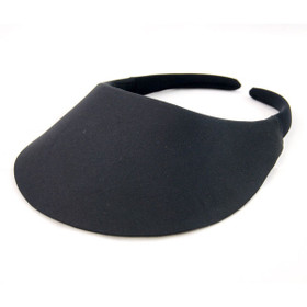 No Headache - Black Midsize Visor Hat