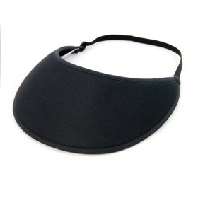 No Headache - Black Active Lite Visor Hat