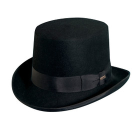 "Scala - Wool Felt 5"" Top Hat"