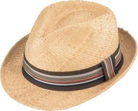 Henschel - Light Raffia Fedora Hat