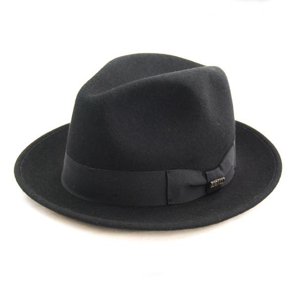 Bigalli - Black Milano Wool Felt Hat