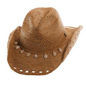 Tommy Bahama - Crocheted Raffia Cowboy Hat