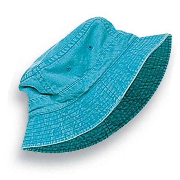 Adams - Caribbean Blue Vacationer Dyed Bucket Hat