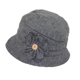 Jeanne Simmons - Wool Cloche Hat