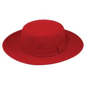 "Jeanne Simmons - Bolero 3"" Brim Hat"