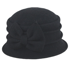 Jeanne Simmons - Boiled Wool Cap